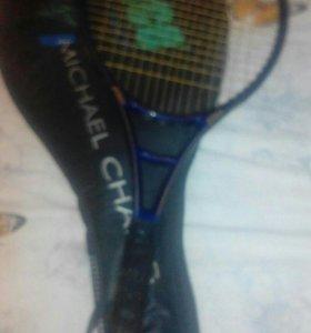 Ракетки для большого тениса и мичи
