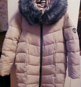 Зимняя куртка (подойдёт для беременных)