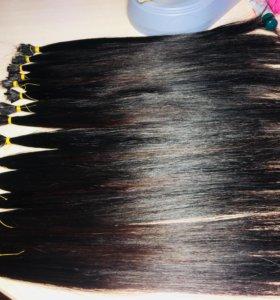 Детские славянские волосы 40 см 300прядей стандарт