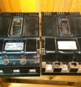 Выключатели автоматические 100А, 500V