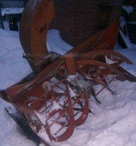 Шнекоротер снегоуборочный