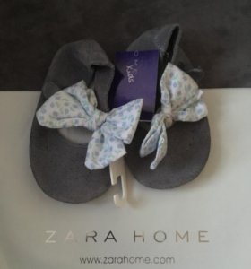Балетки замша Zara home kids (9-12 мес)