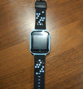 Детские часы-телефон с GPS Q528