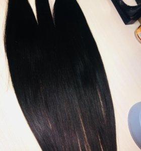 Детские волосы 63 см 350 прядей