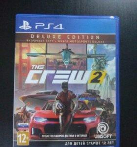 Обмен Crew 2 Deluxe Edition PS4