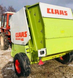 Пресс- подборщик рулонный Claas rolland 46