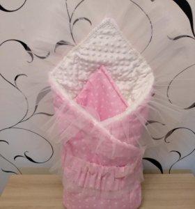 Конверт одеяло на выписку (НОВЫЙ)