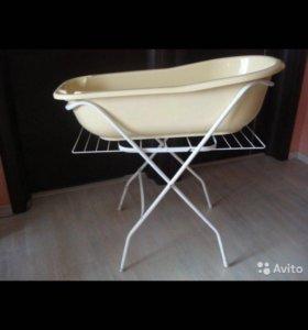 Ванночка на подставке с гамаком
