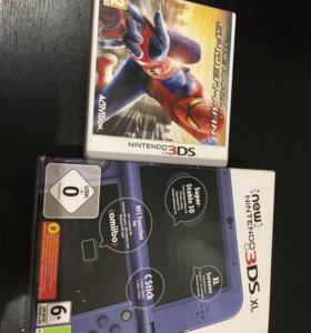 игра the amazing spider-man nintendo 3ds новая