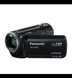 ВидеокамераPanasonicHDC-SD80