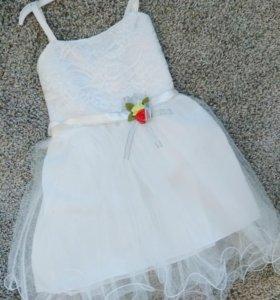 Новые платья 5,6,7 лет