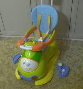 4в1 машинка-каталка-качалка Chicco Quattro