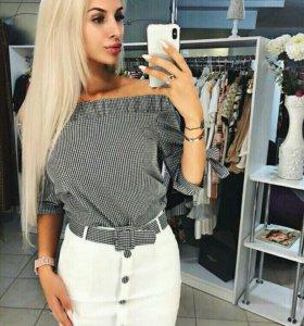 Костюм юбка+рубашка
