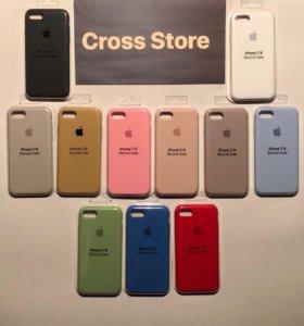 Силиконовые чехлы для iPhone (Silicone Case)
