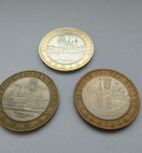 10 рублей 2004 Древние города