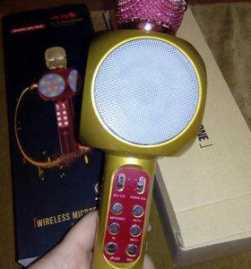 Караоке микрофон светящийся