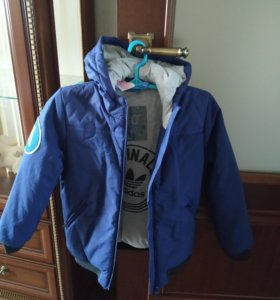 Куртка adidas оригинал на мальчика зима. Новая