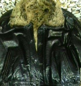 Куртка (дубленка) мужская кожаная
