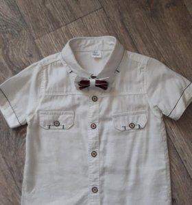 Рубашка р-р 92