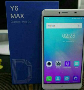 Телефон Doogee Y6 MAX 3D
