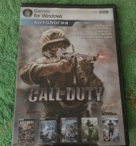 Call of duty 1,2,3,4,5