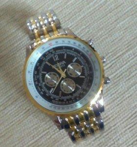 Новые Стильные кварцевые часы мужс\ женс