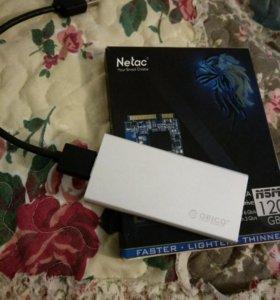 USB ssd 120gb