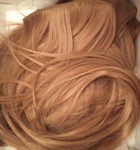 Волосы на заколках 70см