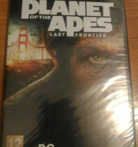 "Компьютерная игра""Planet of the apes last fronter"""