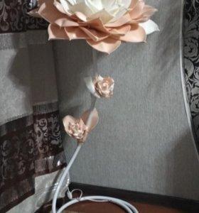 Подарочная роза торшер