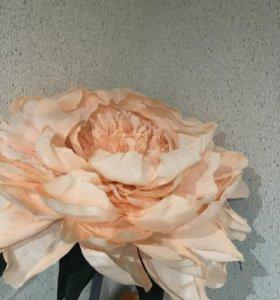 Декорация из цветов для свадьбы и украшения зала