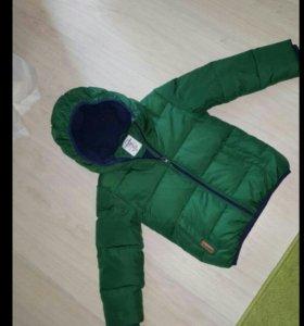 Куртка зимняя и шапка reima