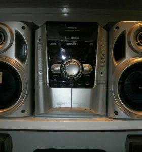 "Муз.центр""Panasonic""MP3,AUX(3.5 воспроизTuner,Deck"