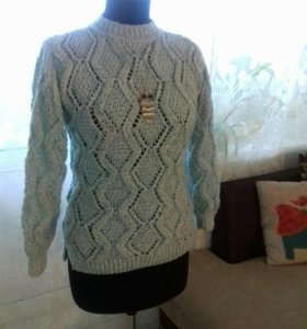 Пуловер.Ручная работа