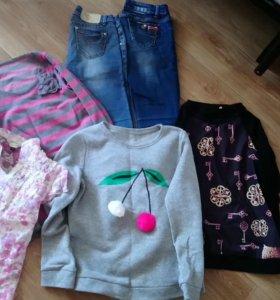 Вещи для девушки пакетом