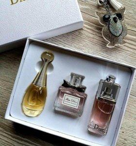 Подарочный набор 3 в 1 от Dior