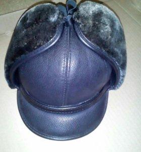 Зимняя кепка шапка