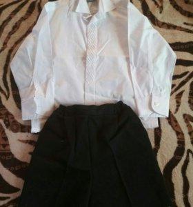 Рубашка, шорты для мальчика