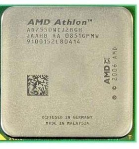 Процессор AMD Athlon X2 7550