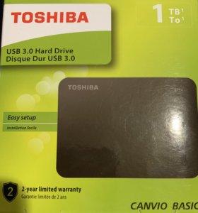 Внешний жёсткий диск Toshiba 1Tb