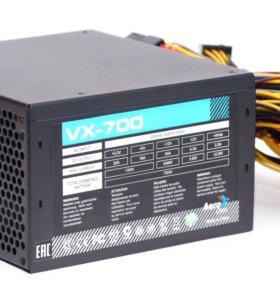 Блок питания Aerocool VX-700, 700Вт