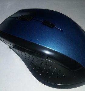 Мышка беспроводная. Новая. 1600 dpi. 6 кнопок.