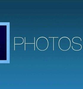 Работа с фотошопом