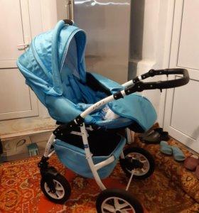 Детская прогулочная коляска 3 в 1
