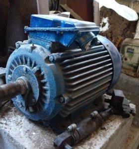 Электродвигатель для пилорамы