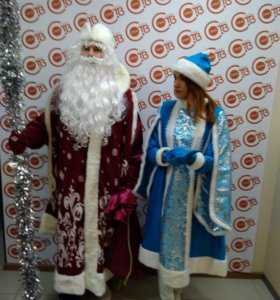 Прокат новогодних костюмов Дед Мороз и Сн
