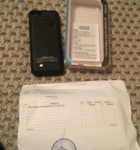Чехол аккумулятор на iphone 5,5s,5c,se