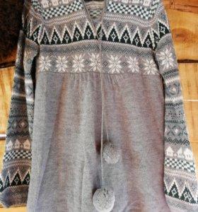 Тёплый свитер /туника