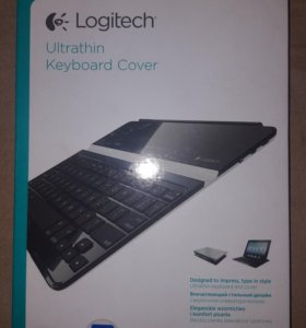 Клавиатура Logitech Ultrathin для iPad 2 / 3/ 4