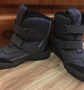 Зимние ботинки на мальчика недорого